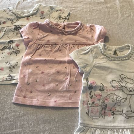 0-3 Month 3  Bambi Tee Set